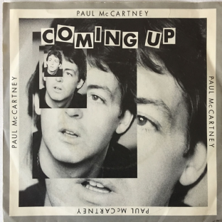 "Paul McCartney - Coming Up (7"") (VG-/G-VG)"